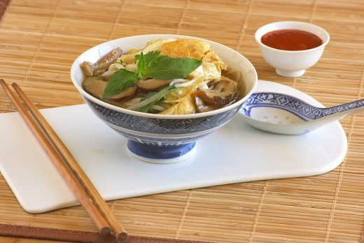 Bean Curd Noodle Soup