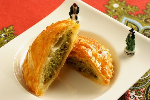 Galette Des Rois a la Pistache (Pistachio Kings Cake) Recipe