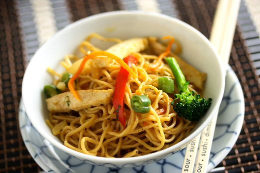 Chicken Chow Mein Recipe with Picture