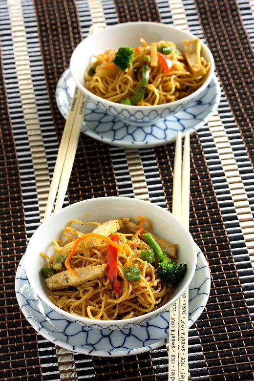 Chicken Chow Mein Noodles Recipe