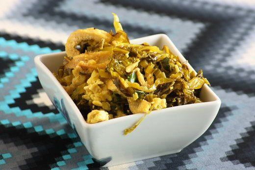 Scrambled Tofu and Kimchi Recipe