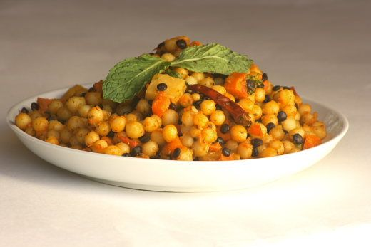 Moghrabieh with Root Vegetables (Lebanese Couscous) Recipe