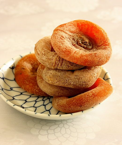 Dried Hachiya Persimmons with Picture