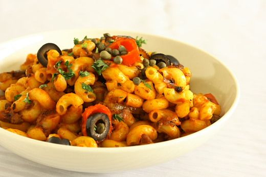 Mediterranean Chorizo Pasta Recipe