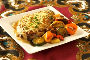 Veal Scallopini with Garlic Cream Sauce (Escalope de Veau Marsala)