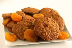 Cashew Apricot Brown Sugar Cookies