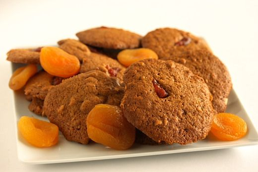 Cashew Apricot Brown Sugar Cookies Recipe