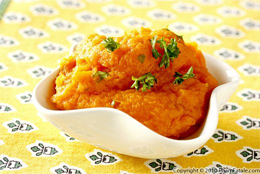 Carrot Puree (Mashed Carrots) Recipe
