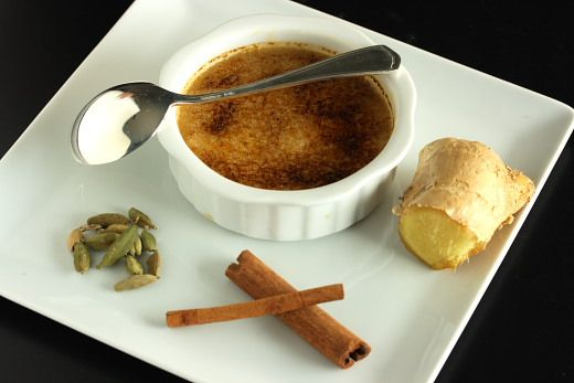 Masala Chai Creme Brulee Recipe