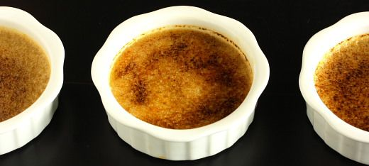 Chai Tea Creme Brulee Recipe with Picture