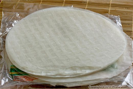 Vietnamese Rice Paper Picture