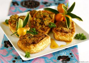 Kumquat Breaded Baked Tofu