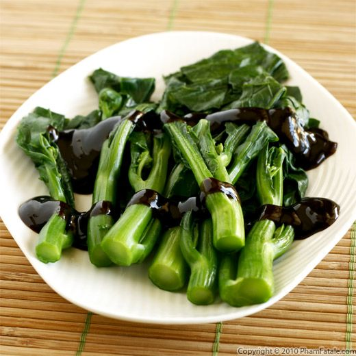 Steamed Choy Sum