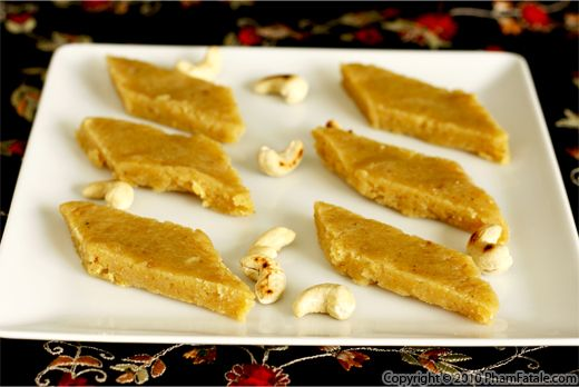 Besan Burfi Recipe with Picture