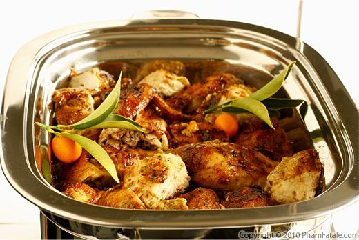 Oven Roasted Chicken with Kumquats Recipe