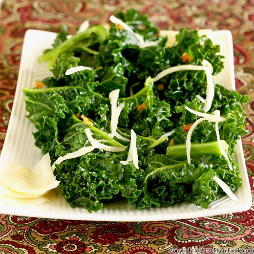 Kale with Homemade Pickled Ginger Recipe