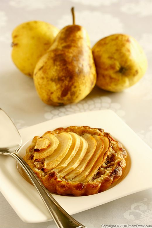 Tarte Poire Noisette (Pear Tart with Hazelnut Cream) Recipe