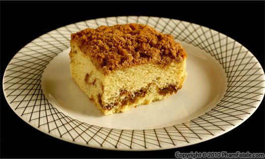 Walnut Crumb Topping Recipe with Picture