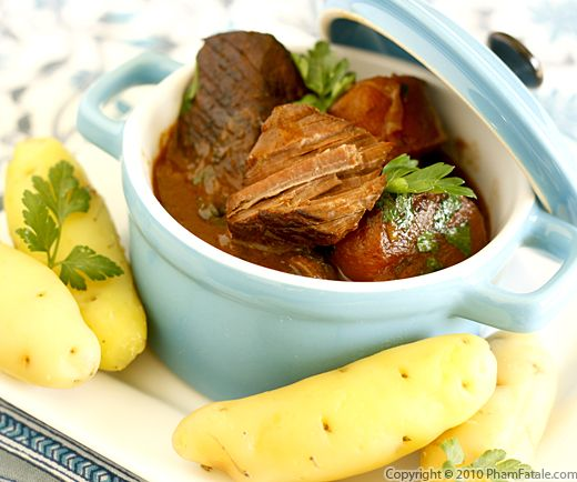 Beef Stew (Boeuf Bourguignon) Recipe