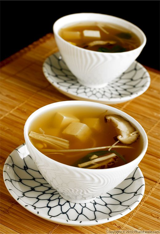 Tofu Miso Soup Recipe