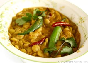 Lima Bean Masala (Indian Butter Bean Curry)