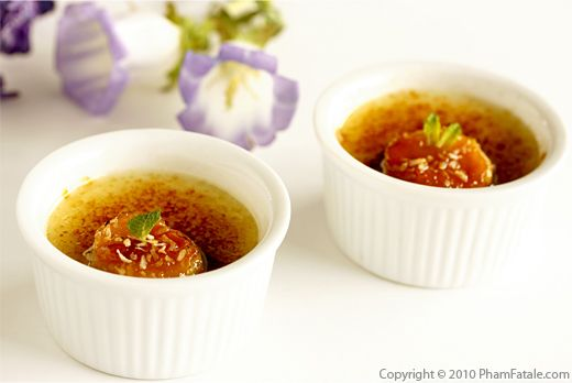 Banana Coconut Creme Brulee Recipe