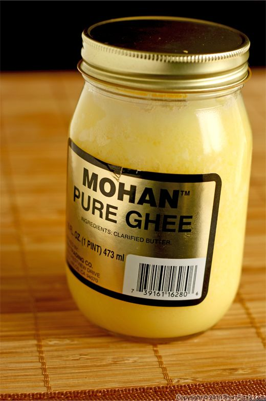 Ghee Indian Clarified Butter Picture