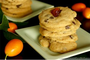 Kumquat and Chocolate Chip Cookies