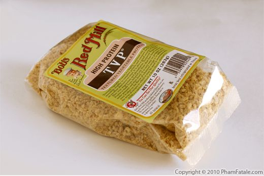 TVP Textured Vegetable Protein Picture