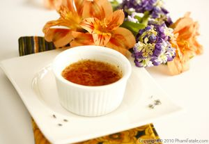Lavender Dessert Recipe with Picture