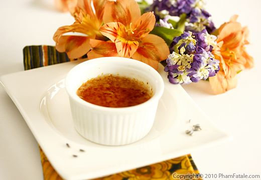 Lavender Creme Brulee Recipe - Pham Fatale