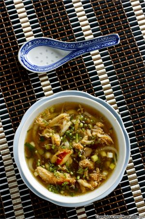 Vietnamese Asparagus Crab Soup (Sup Mang Cua Recipe)