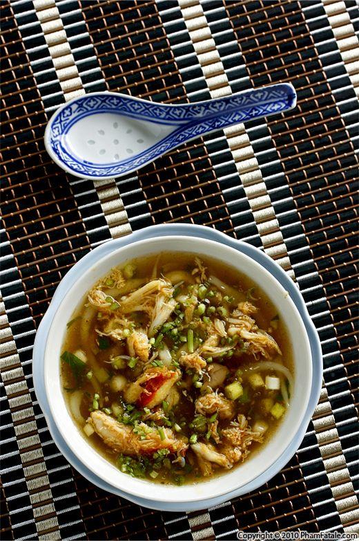 Vietnamese Asparagus Crab Soup (Sup Mang Cua Recipe) Recipe