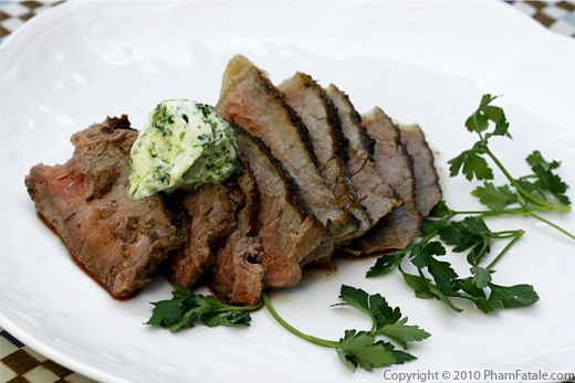 Entrecote Steak Recipe with Picture