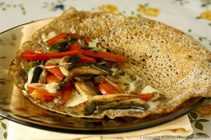 French Buckwheat Crepe Recipe (Galette de Sarrasin ou Galette de Ble Noir)