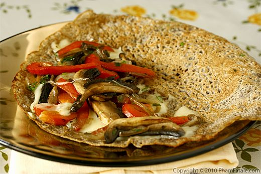French Buckwheat Crepe Recipe (Galette de Sarrasin ou Galette de Ble Noir) Recipe