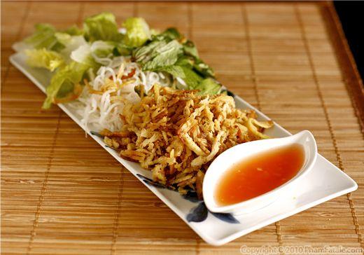Bi Chay (Vietnamese Vegetarian Recipe) Recipe