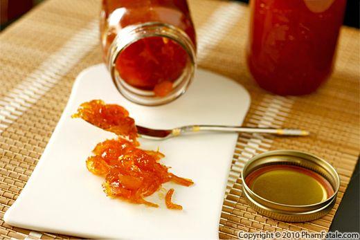 Homemade Tangerine Kumquat Marmalade Recipe Recipe