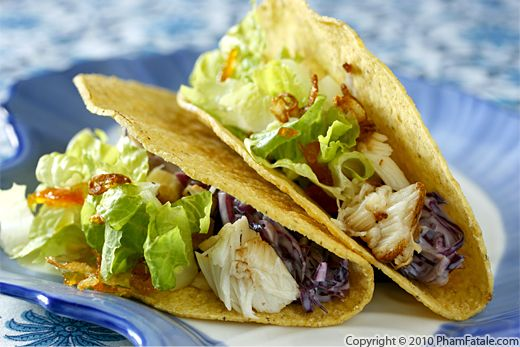 Gourmet Fish Taco Recipe Recipe