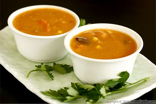 Cream of Tomato Soup Recipe (Soupe Tomate et Basilic) Recipe