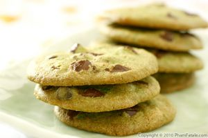 Pandan Chocolate Chip Cookie Recipe