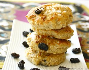 Buttermilk Cherry Scones