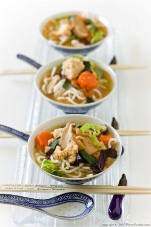 Bun Rieu Chay Recipe (Vietnamese Vegetarian Vermicelli Rice Noodle Soup)