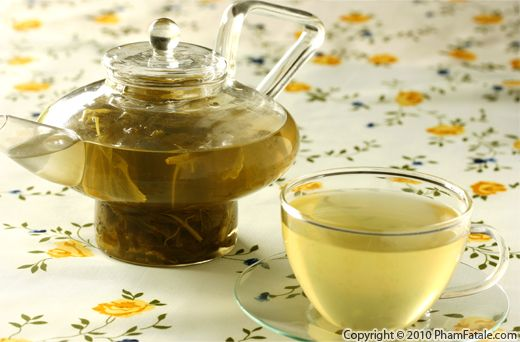 Lemon Balm Tea Recipe with Picture