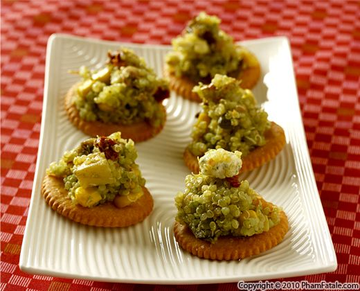 Vegetarian Quinoa Appetizers Recipe