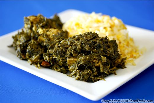 Palak Paneer (Fried Indian Cheese in Garam Masala and Cream Spinach) Recipe