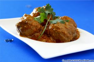 Chicken Kofta Recipe in Makhani Curry