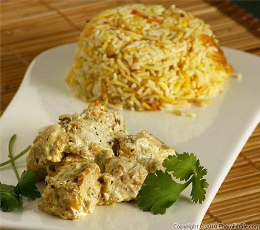 Spicy Peanut Mascarpone Chicken Curry Recipe Recipe