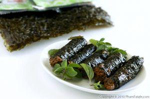 Vegetarian Fish in Nori Rolls (Ca Keo Chay)