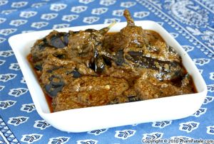 Baghare Baingan (Indian Eggplant Masala Recipe)